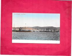 SALONIQUE   - GRECE - CPA COLORISEE - Le Port - BES1 - - Greece