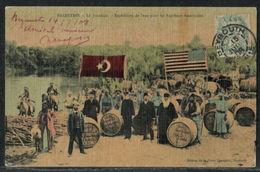 Palestine - Expédition Baptêmes Américains - Beyrouth Liban France Levant 1908 - Palestine