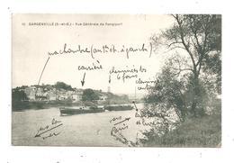 Gargenville-Vue Générale De Rangiport- Péniche (C.9892) - Gargenville