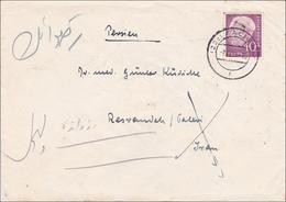 Brief Aus Aachen Nach Persien 1955 - [7] Federal Republic