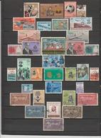 34 TIMBRES HAÏTI OBLITERES & NEUFS* + SANS GOMME  DE 1945 à 1974 - Haiti