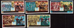Comoros-1978,(Mi.523-527), Football, Soccer, Fussball,calcio,MNH - World Cup