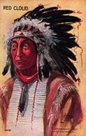 AMERIQUES - INDIENS - RED CLOUD - Indiens De L'Amerique Du Nord
