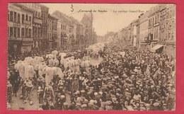 Binche - Carnaval - Le Cortège Grand'Rue -1932 ( Voir Verso ) - Binche