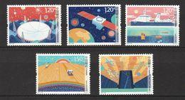 China, 2017, Innovations, 5 Stamps - Ruimtevaart