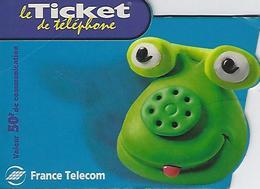 Ticket De Telephone -france Telecom- 50 Francs - France