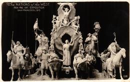 ETATS UNIS - THE NATIONS OF THE WEST PAN PAC EXPOSITION SAN FRANCISCO 1915 - Etats-Unis