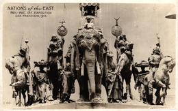 ETATS UNIS - THE NATIONS OF THE EAST PAN PAC EXPOSITION SAN FRANCISCO 1915 - Etats-Unis