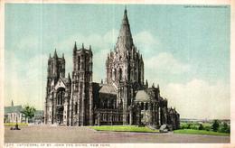 ETATS UNIS - CATHEDRAL OF ST JOHN THE DIVINE NEW YORK - NY - New York