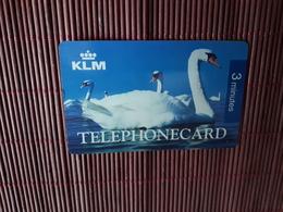 KLM Prepaidacard 2 Minutes 2 Scans  Rare - Unclassified