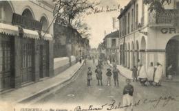 CHERCHELL RUE CAESAREE CAFE DE LA BOURSE - Algérie