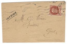 15076 - Tarif  Des  Imprimés  à 1f50 - Storia Postale