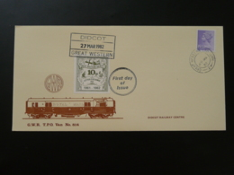 Lettre Cover Train Didcot Railway Letter GB 1982 - Trains