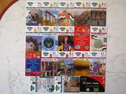 LOT   CARDS  52   CERTAINES SANS ET PUCES   SANS NUMEROS  JORDANIA   ARMENIA   BOSNIA NEPAL SUDAN SENEGAL - Télécartes