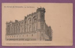 Château De Saint-Germain Construit En 1370 Par Charles V - St. Germain En Laye (Château)