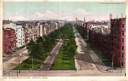 ETATS UNIS - COMMONWEALTH AVE BOSTON MASS - Etats-Unis
