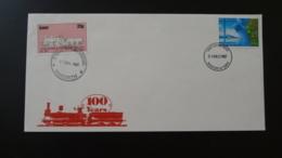 Lettre Cover Train Lancashire  Yorkshire Railway Letter GB 1987 - Trains