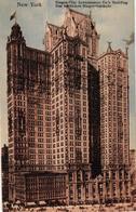 ETATS UNIS - NEW YORK SINGER CITY INVESTMENTS CO'S BUILDING - Etats-Unis
