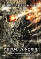 [MD2827] CPM - TERMINATOR SALVATION - L'INIZIO DELLA FINE - CINEMA - PROMOCARD 8726 - Non Viaggiata - Cinema