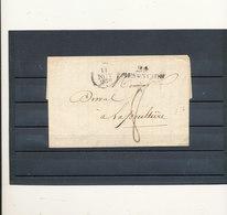 LETTRE 1829 - Marcophilie (Lettres)