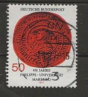 1977-Université De Marburg. - Oblitérés