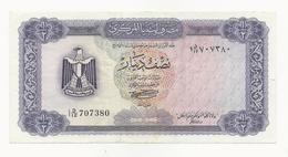 Libya 1/2 Dinar EF - Libye