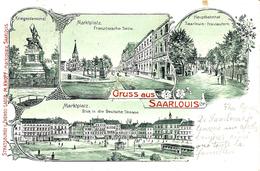 Gruss Aus SAARLOUIS -  Verlag M.Knopp - Kreis Saarlouis