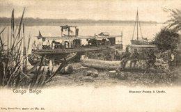 Congo Belge Steamer Peace A Upoto - Congo - Kinshasa (ex Zaire)