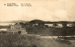 Congo Belge-carte Entier Postal Postal Stationnery- 5c Vert-gare Du Mayumbe - Congo - Kinshasa (ex Zaire)