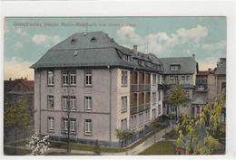 39098056 - Mainz Mombach. Gastell'sche Hospiz. Feldpost, Stempel Von 1916. Leichte Abschuerfungen, Vorder- Und Ruecksei - Mainz