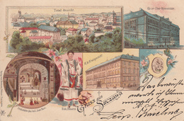 Old Postcard Suczawa Suceava  Litho Romania - Romania
