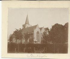 Isenberghe Kerk  (foto Op Karton)   (631) - Alveringem