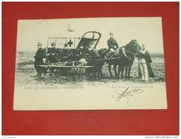 LEOPOLDSBURG - CAMP DE BEVERLOO  -  Champ De Tir -  Ambulance Militaire  -  1905  - - Leopoldsburg (Camp De Beverloo)