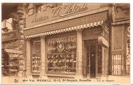 BRUSSEL MAISON VAL WEHRLI PATISSERIE GLACIERS CONFISEURS TEA-ROOM Re686 /d4 - Cafés, Hôtels, Restaurants