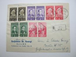1937 , Riva , Raccomandata A Germania - Storia Postale