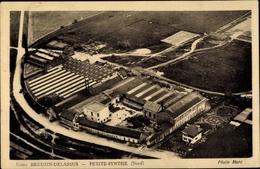 Cp Petite Synthe Nord, Usine Breuzin Delassus, Blick Auf Eine Fabrik Von Oben - Professions