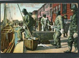 CPA - BOSTON - Warf - Fishermen - Boston