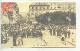 Le Havre La Musique à La Douane, Concours De Diabolo Place Gambetta - MATRAQUE -  Cp Double Vierge 2 Scan - Douane