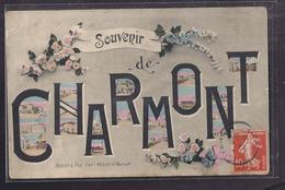 CPA 51 - CHARMONT - SOUVENIR De Charmont - TB CP Multivue En Cartes Postales Sur Le Village - Frankrijk