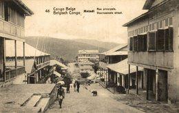 Congo Belge - Matadi - Rue Principale - Congo Belga - Otros