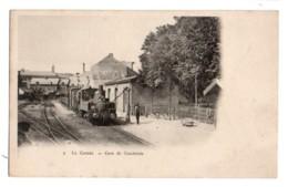 1186, Nord, Le Cateau, Gare De Cambrésis, Dos Non Divisé - Le Cateau