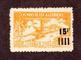 Algérie Colis Postaux  N°209d N** LUXE  Cote 15 Euros !!!RARE - Colis Postaux
