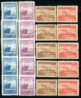 VA858 CHINA CINA 1947, Navigazione Mercantile A Vapore Cinese, MH, Mi 842-45, 5 Serie Complete, Ottime Condizioni, 75th - 1912-1949 Repubblica