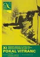 Programme XI International Skiing Competition For The European Cup 1972 Vitranc Kranjska Gora Slovenia Yugoslavia - Winter Sports