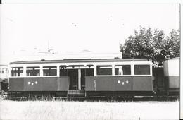 Carte Photo - Tramway BAB - Bayonne Aglet Biarritz - Remorque Type VFDM - Photo Laurent - Trains