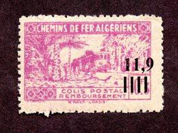Algérie Colis Postaux  N°160b N** LUXE  Cote 15 Euros !!!RARE - Colis Postaux