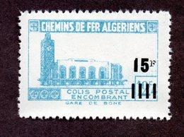 Algérie Colis Postaux  N°178d N** LUXE  Cote 20 Euros !!!RARE - Colis Postaux