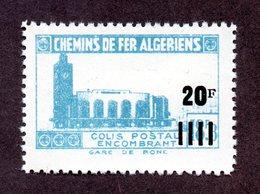 Algérie Colis Postaux  N°179b N** LUXE  Cote 20 Euros !!!RARE - Algérie (1924-1962)