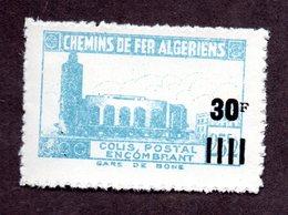 Algérie Colis Postaux  N°180c N** LUXE  Cote 20 Euros !!!RARE - Algérie (1924-1962)