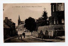 - CPA TRÉLON (59) - Rue Du Calvaire Et Place De La Concorde - Edition Haumont N° 7 - - Frankreich